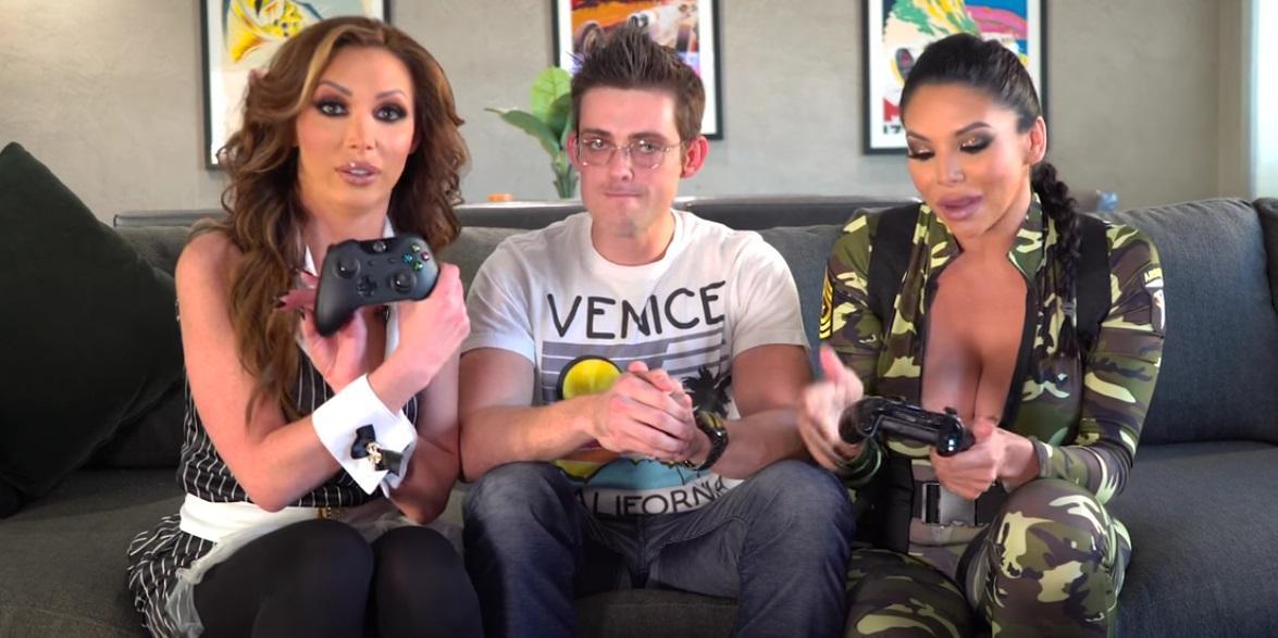 Brazzers ya hace gameplays con estrellas porno