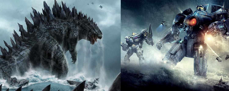 Godzilla y Pacific Rim secuelas