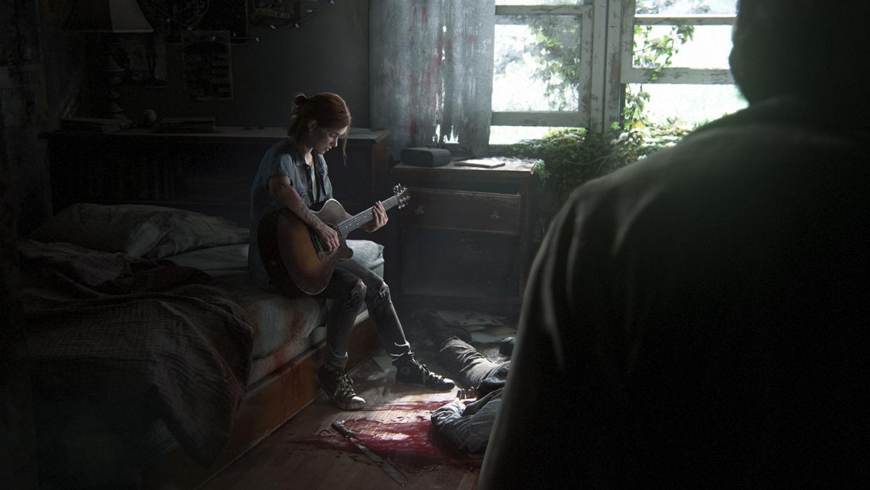 Ellie y Joel en The Last of Us 2
