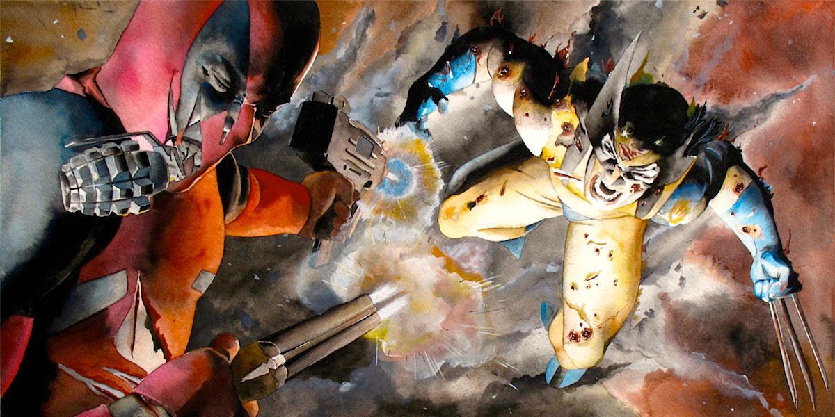 Logan vs Deadpool
