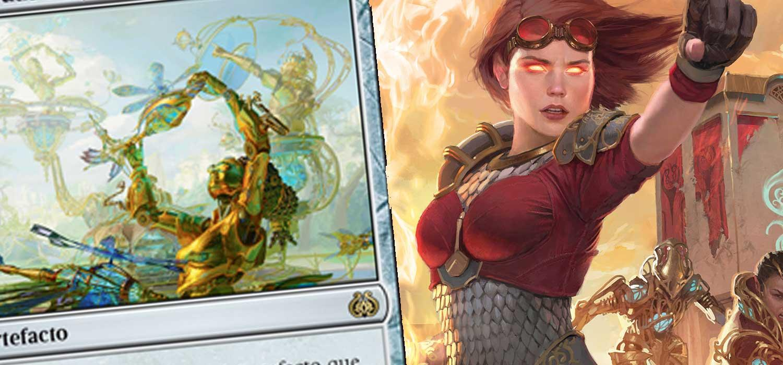 Magic revela una nueva carta exclusiva para España de su nueva colección La Revuelta del Éter, dedicada al mundo de Kaladesh, el plano de la planeswalker Chandra