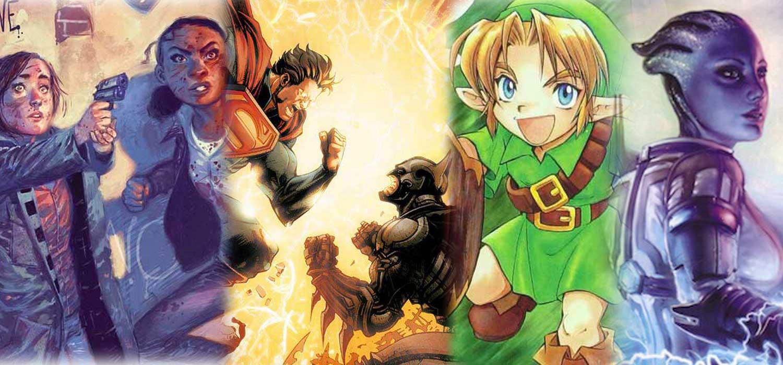 Mejores cómics basados en videojuegos: Tomb Raider, Injustice...