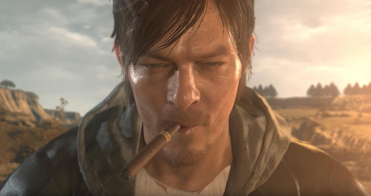 Norman Reedus Metal Gear V