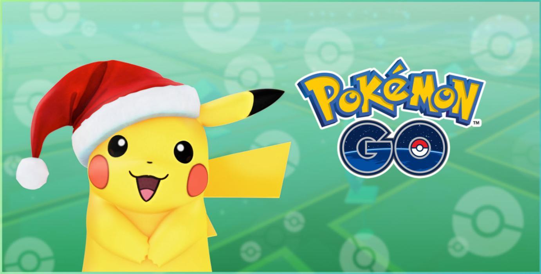 Pikachu navideño Pokémon GO