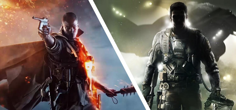 Battlefield 1 CoD Infinite Warfare