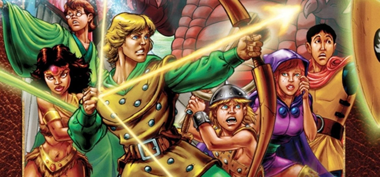 Dragones y mazmorras - dibujos animados