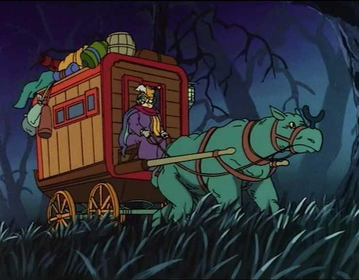 Dragones y mazmorras - Así terminó la serie de dibujos animados