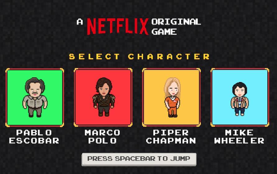 Juego retro de Netflix