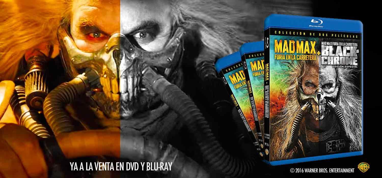 Mad Max: furia en la carretera Black & Chrome