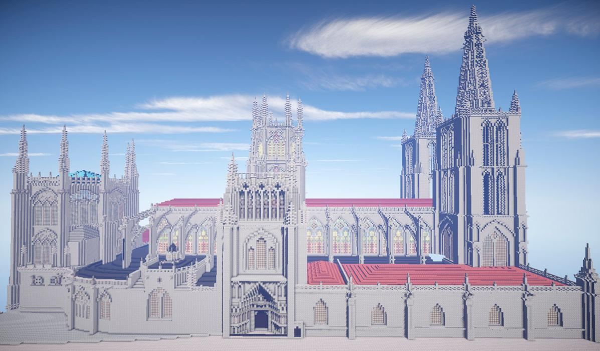 Minecraft - Catedral Burgos
