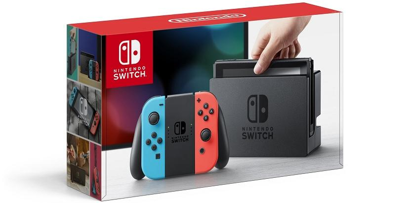 Nintendo Switch Neon consola
