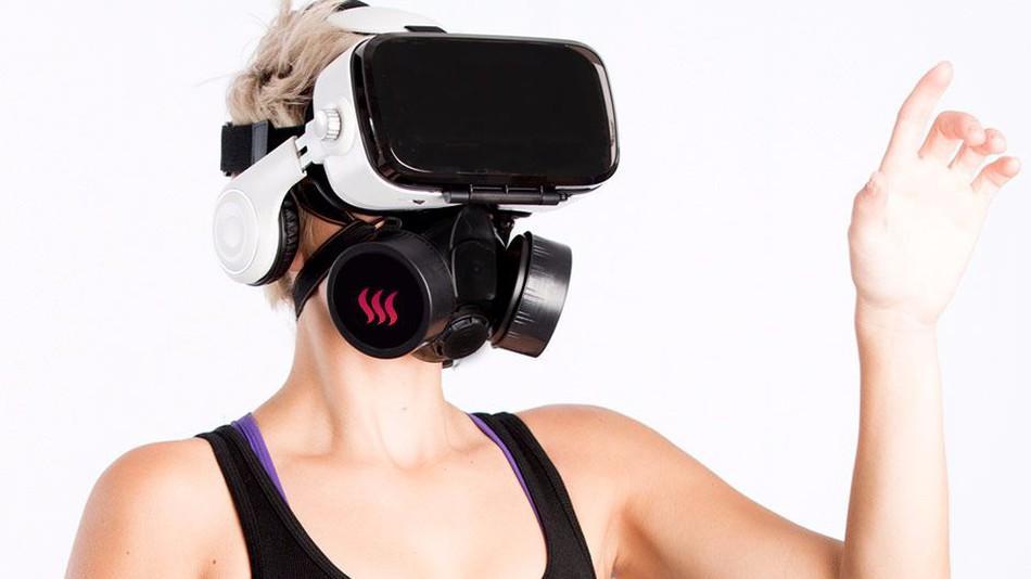 OhRoma - Máscara con olores para porno en VR