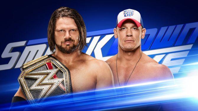 WWE - AJ Styles vs John Cena