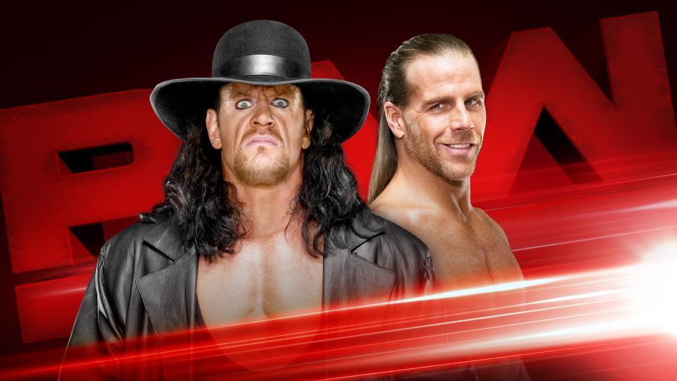 WWE  El Enterrador y Shawn Michaels en Raw