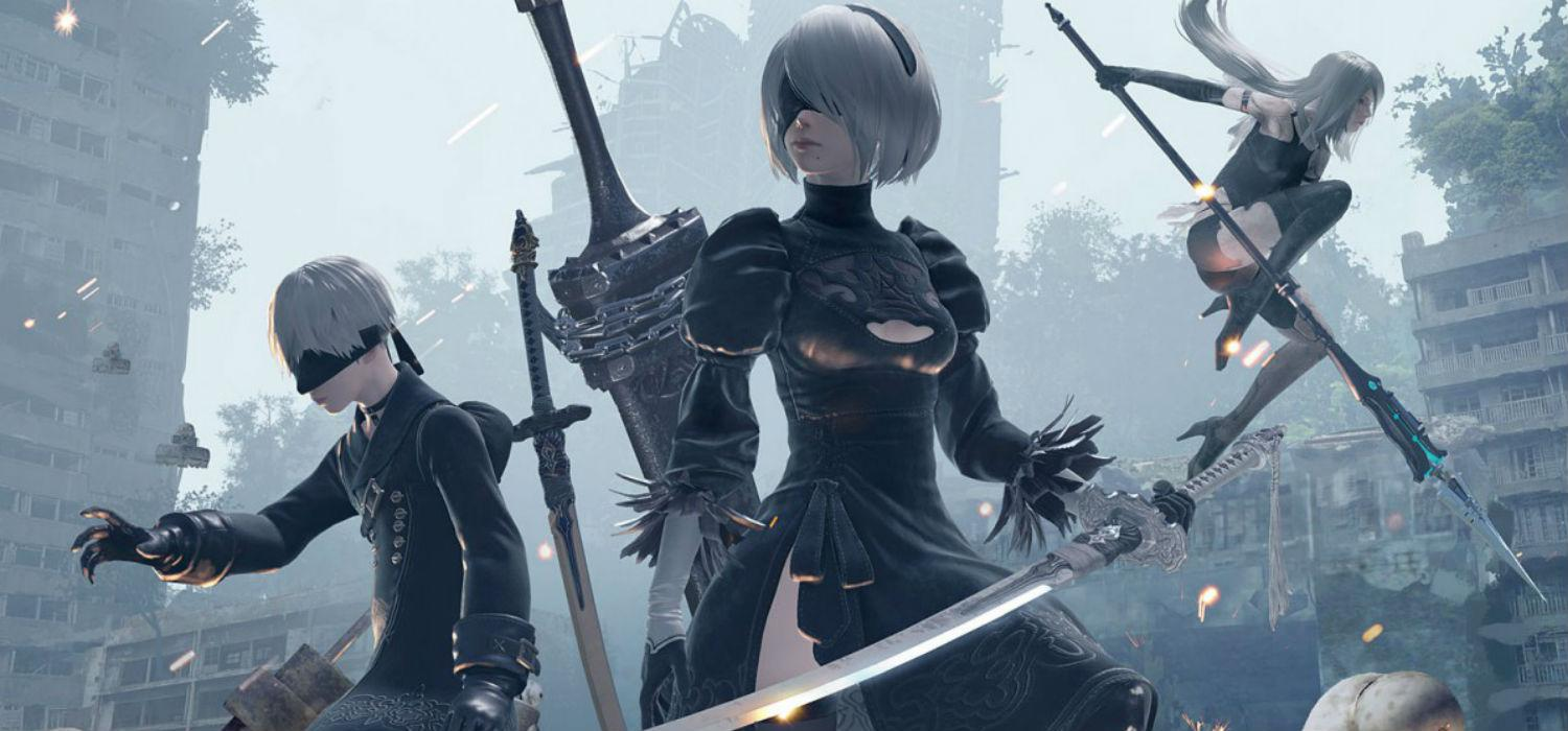 NieR Automata PS4 PC gameplay