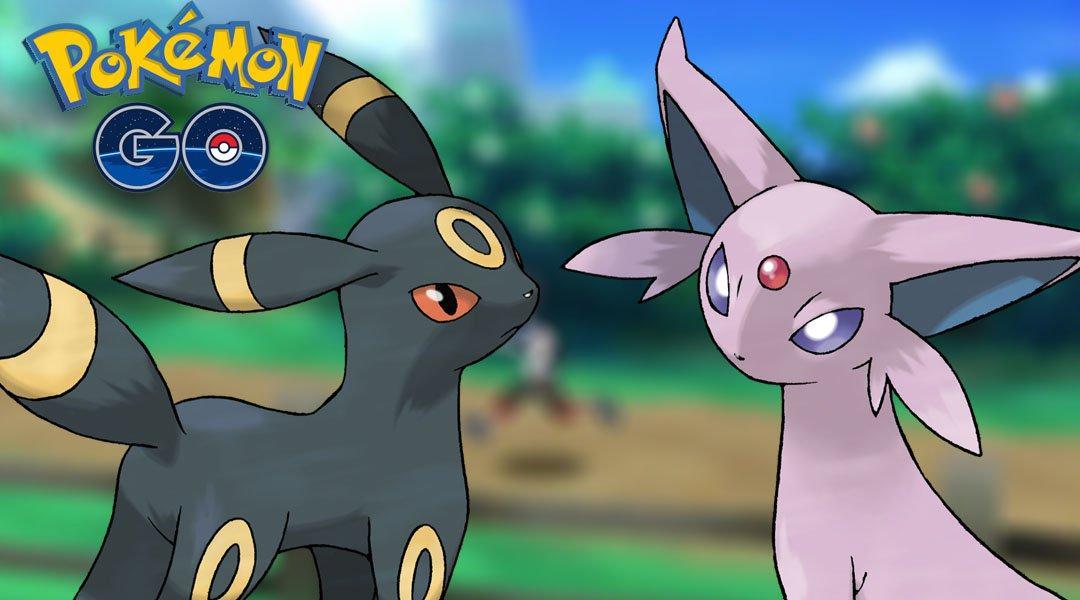 Pokémon GO - Umbreon y Espeon