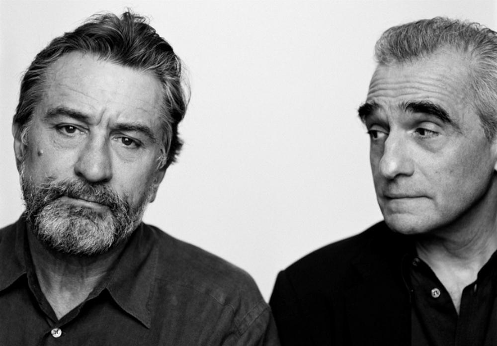 Robert DeNiro y Martin Scorsese