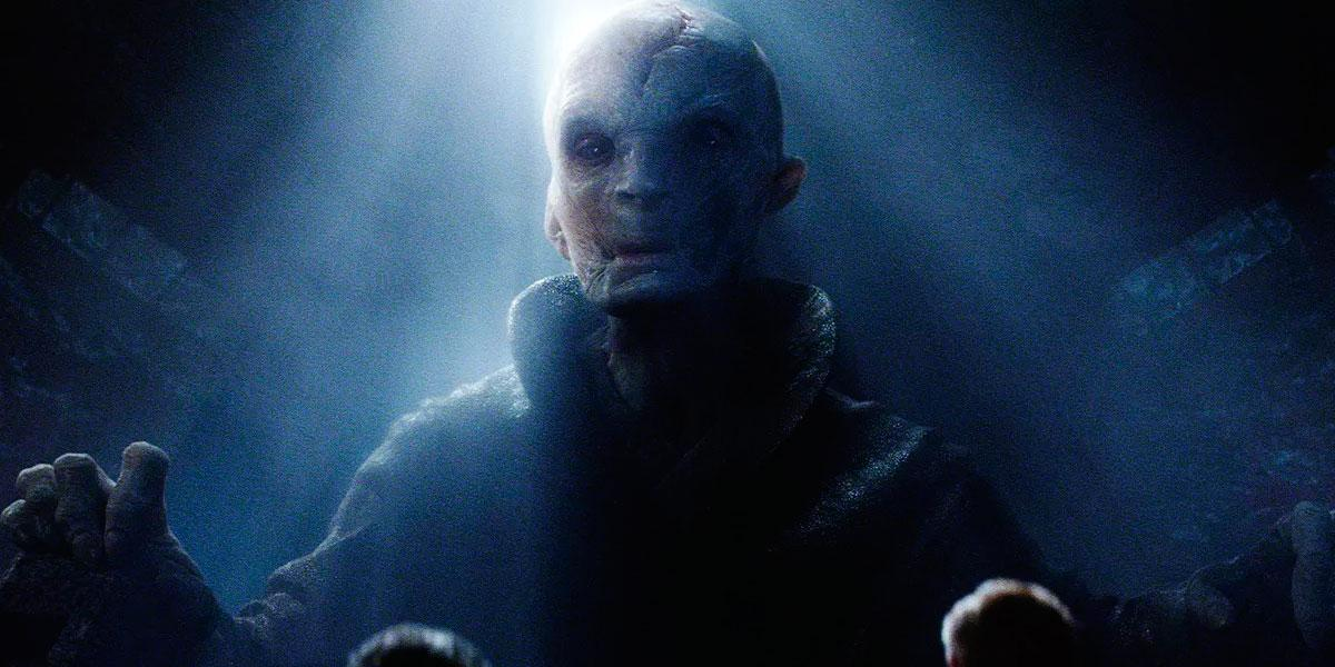 Star Wars - líder supremo Snoke