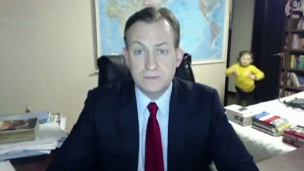 bbc interrumpe niña