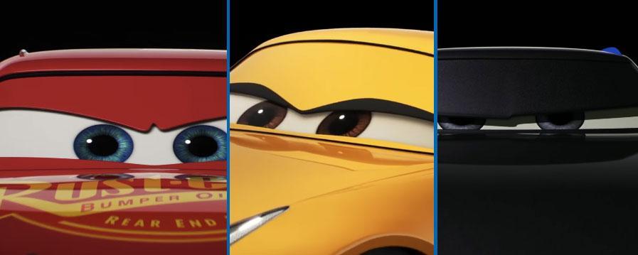 Cars 3 - Clip de los personajes