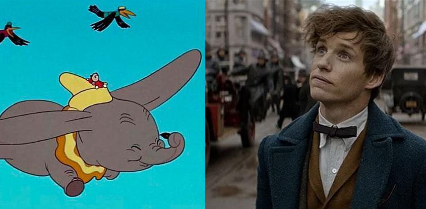 Dumbo y Animales fantásticos inician el rodaje
