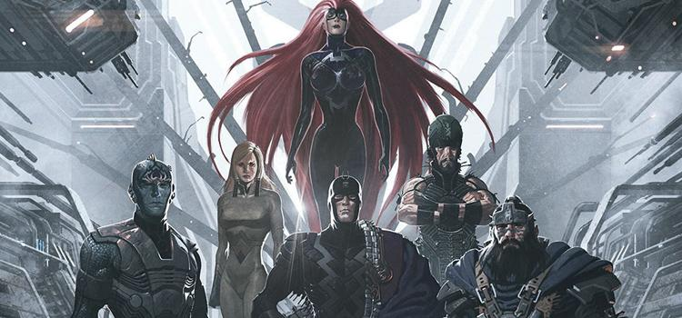 Inhumans, Rayo Negro, ABC, MArvel