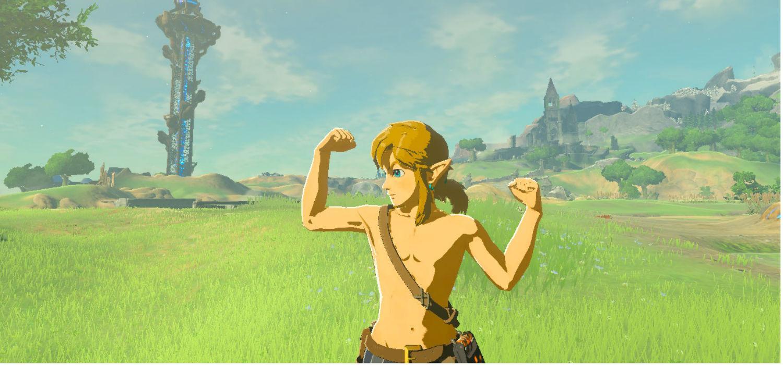 The Legend of Zelda Breath of the Wild detalles secretos