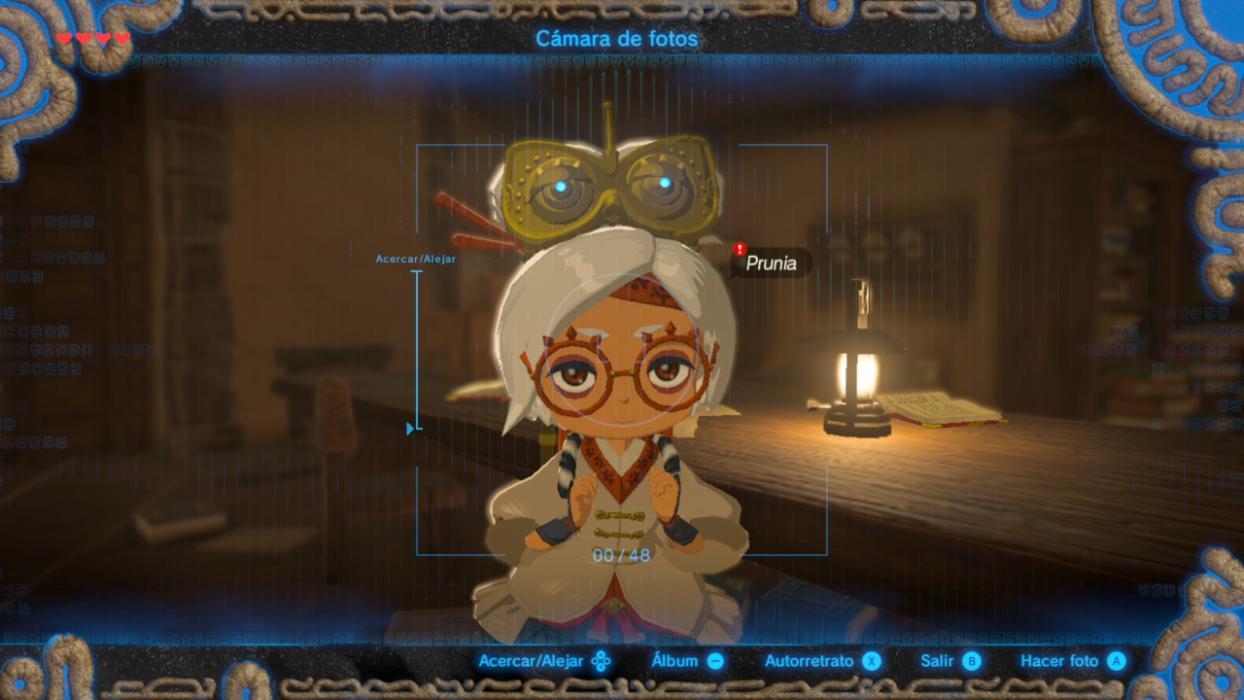 The Legend of Zelda Beath of the Wild sobre confidencial