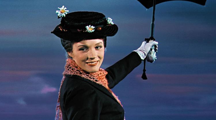 Disney, Julie Andrews, Robert Stevenson