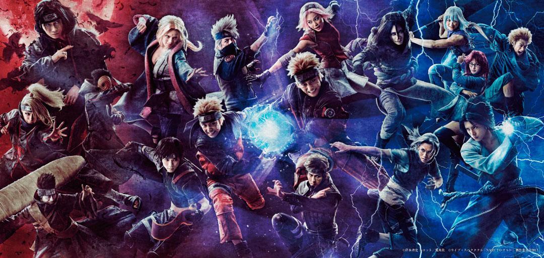 Naruto - El musical muestra el aspecto de todos sus protagonistas