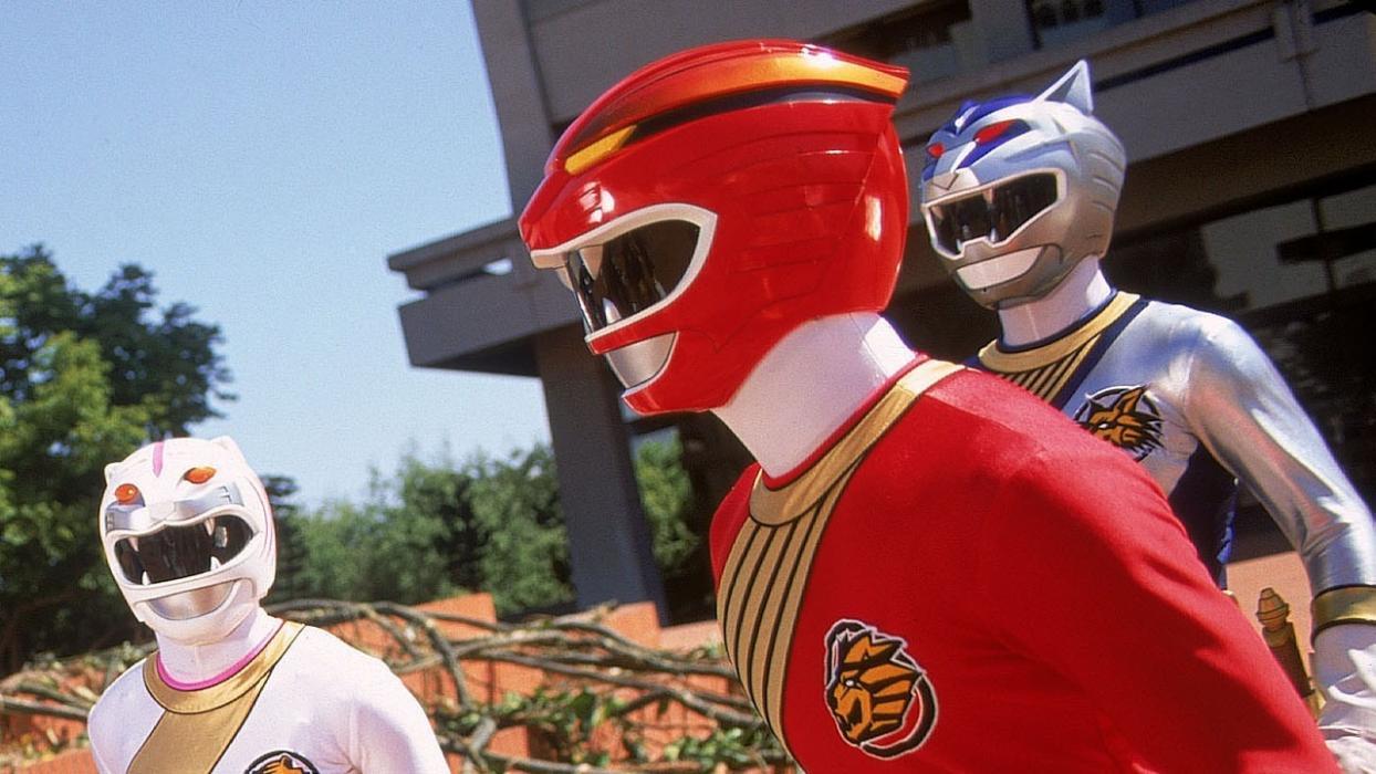 Power Ranger rojo