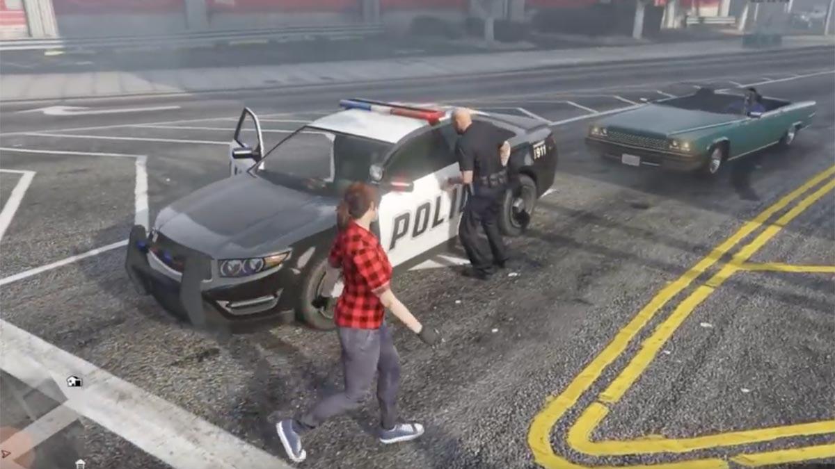 Robar coche de Policía en GTA Online