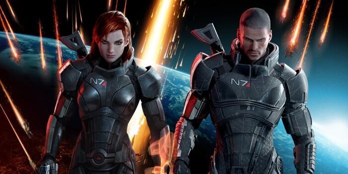 Shepard en Mass Effect 3