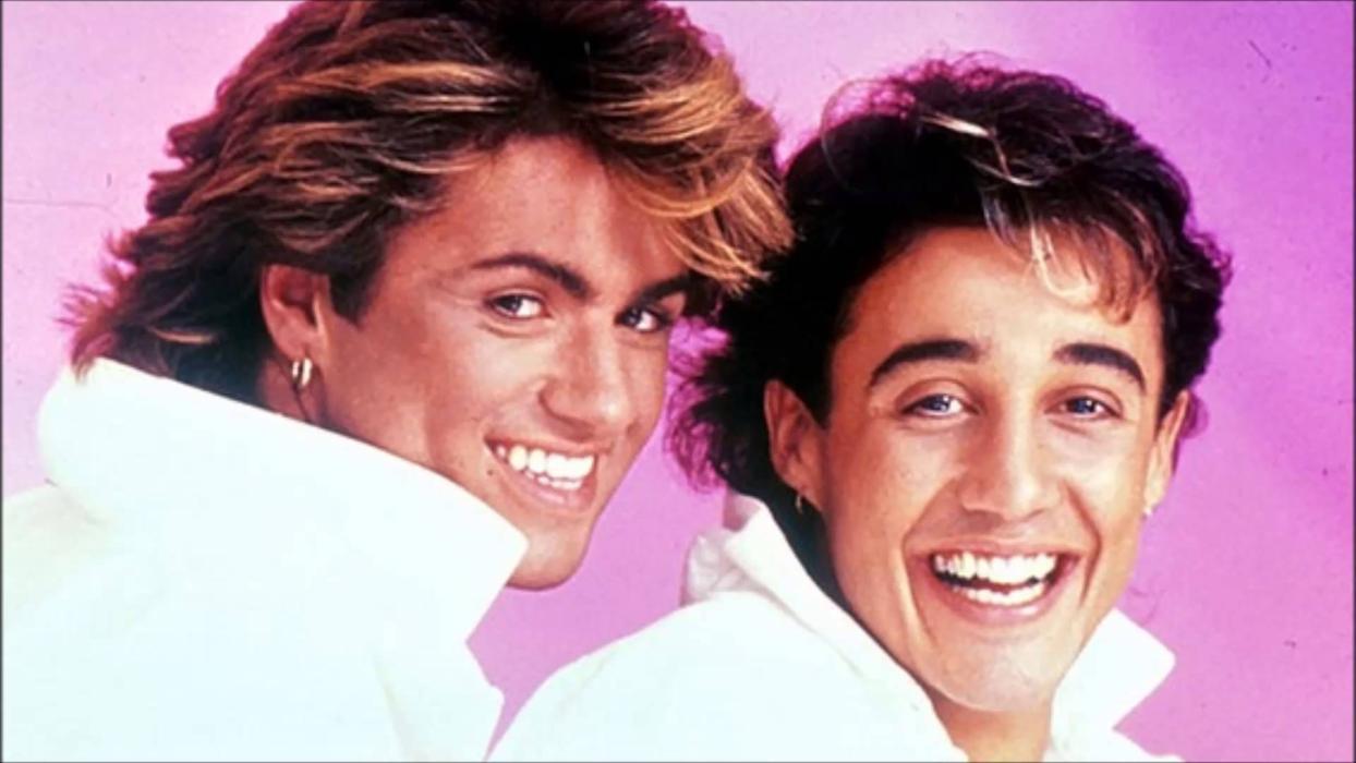 wham! - George Michael y Andrew Ridgeley