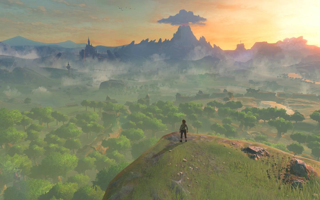 Zelda Breath of the Wild Ocarina of Time