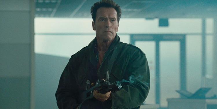 Arnold Schwarzenegger en Los Mercenarios 2