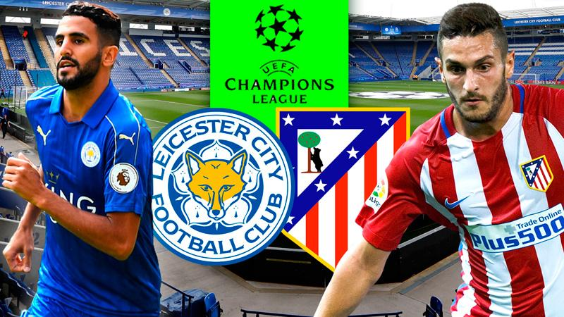 Atletico vs Leicester