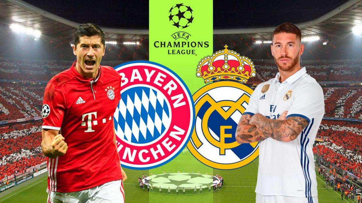 real madrid bayern online