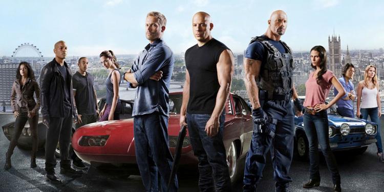 Vin Diesel, Londres, The Rock