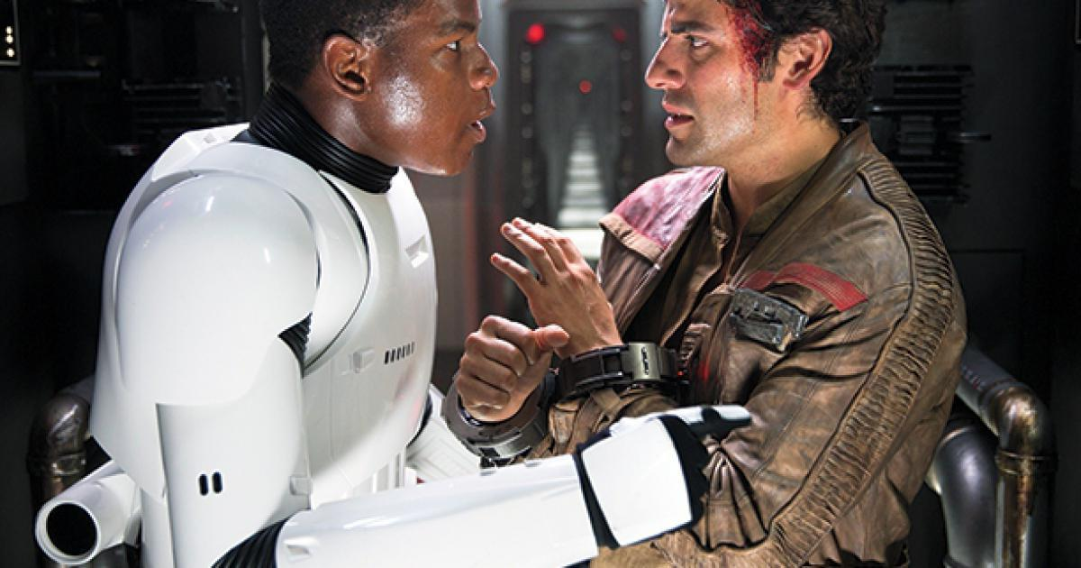 Finn y Poe - Star Wars: El despertar de la Fuerza