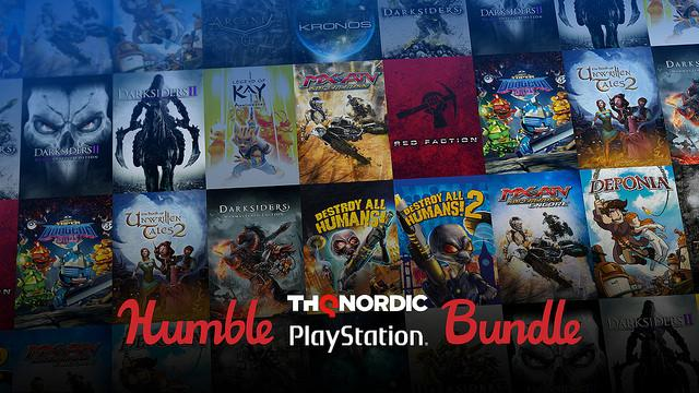 Humble THQ Nordic PlayStation Bundle