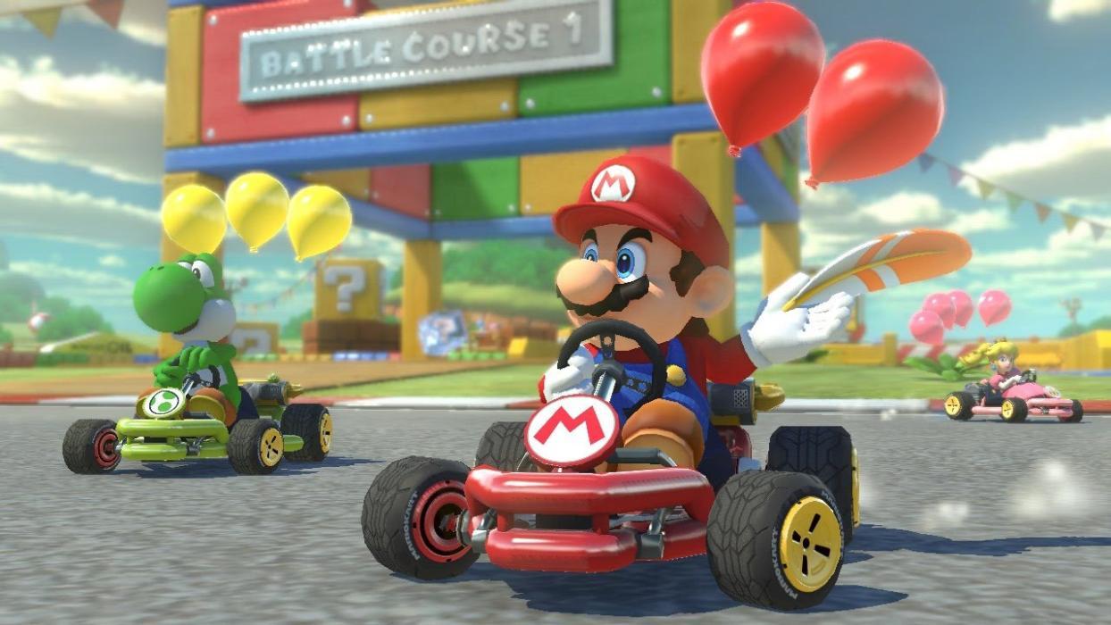 Mario Kart 8 Deluxe modo batalla
