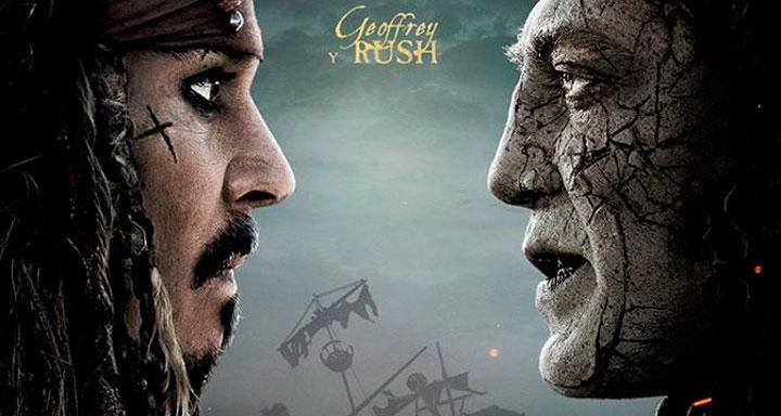 Piratas del Caribe: La venganza de Salazar - Pósters individuales