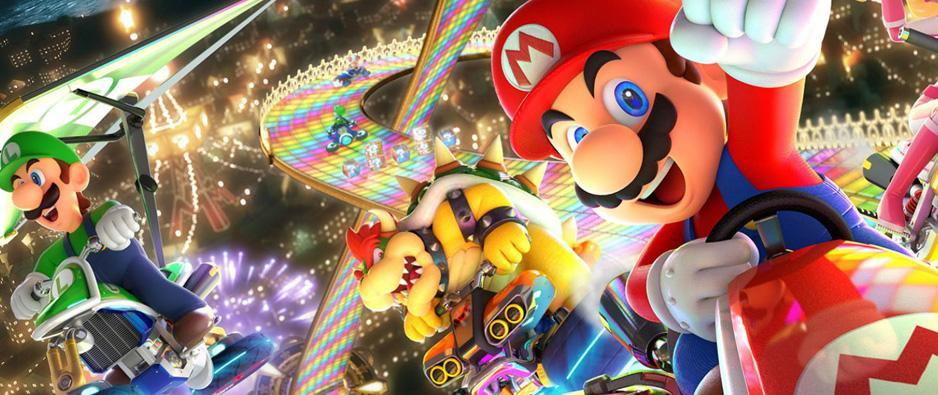 Principal Mario Kart Deluxe