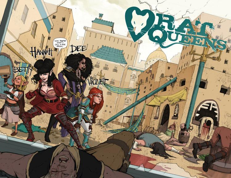 Rat Queens: Descaro y Brujería - Review de un cómic que has de leer
