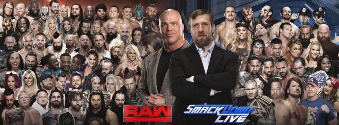 WWE Shake-Up - Superestrellas que pasan de SmackDown a Raw