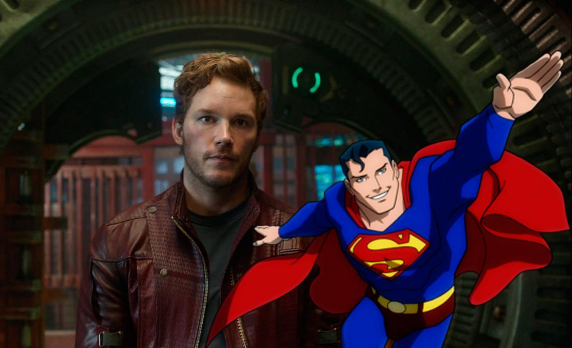 Chris Pratt pudo haber sido Superman