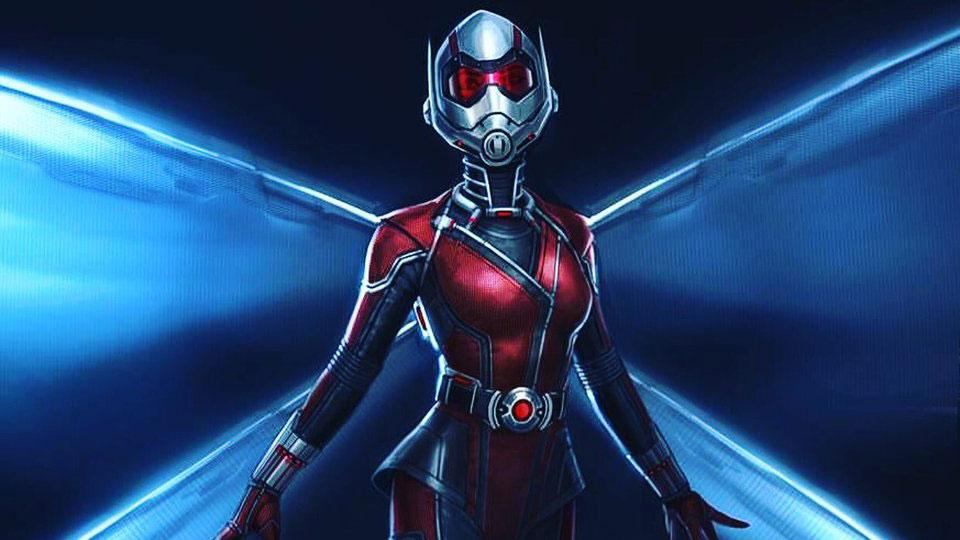 Concept art de La Avispa en Ant-Man and The Wasp
