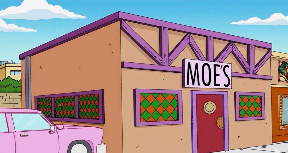 Una empresa crea una Taberna de Moe hinchable