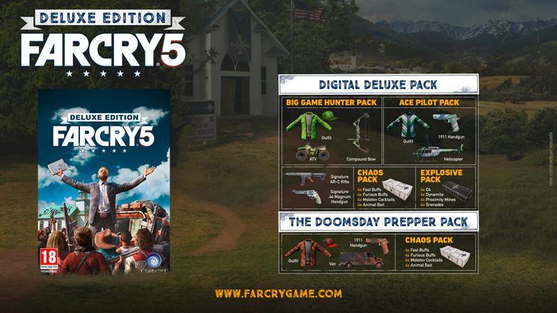 Far Cry 5 ediciones